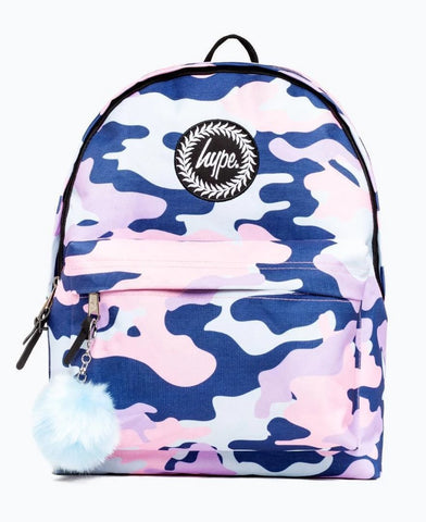 Evie Camo Backpack