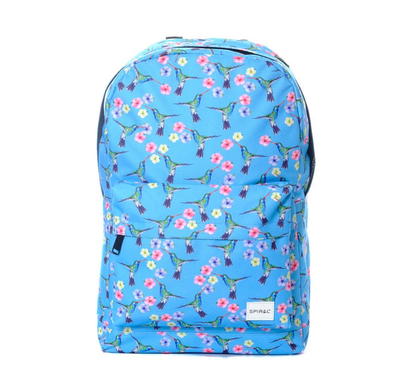 Hummingbird Blue Backpack