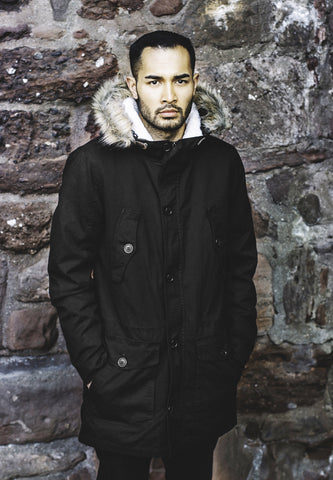Sherpa Lined Cotton Parka