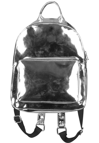 Midi Metallic Backpack