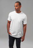 Ripped Pocket Tee
