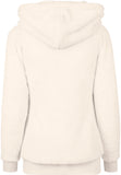 Ladies Long Teddy Hoody