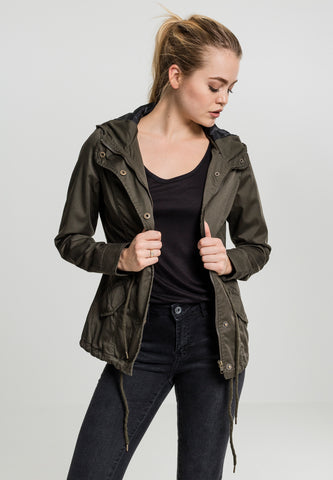Basic Cotton Parka