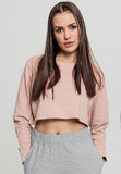 Ladies Terry Cropped Crew