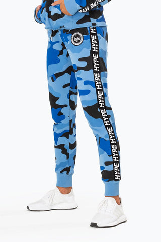 Taped Camo Sweatpants