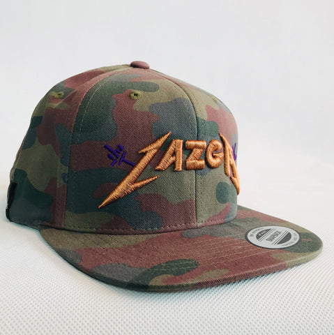 Fingers Cotton Camo Snapback