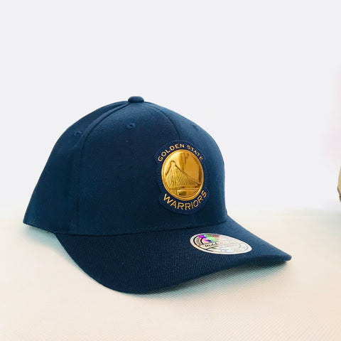 Golden State Warriors Metallic Logo 110