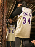 Los Angeles Lakers #34 Shaquille O'Neal Swingman Jersey