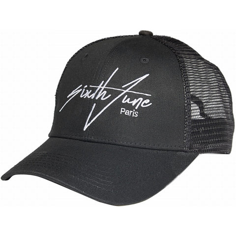 Embroidered Signature Cap