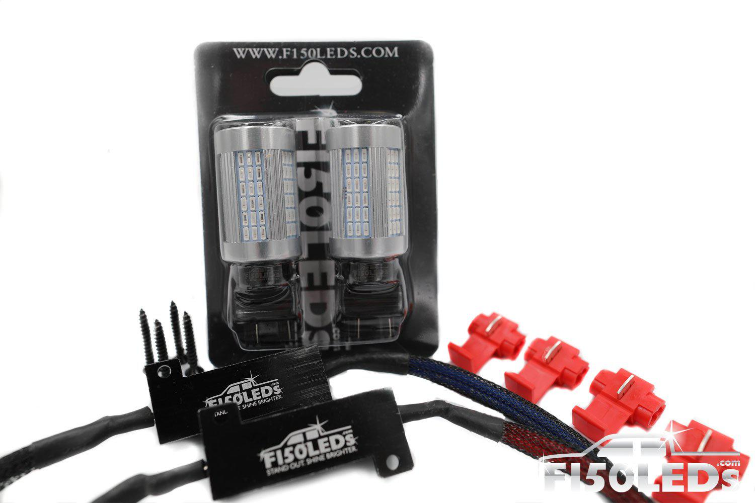 2010-14 F150 RAPTOR CREE LED FRONT TURN SIGNAL KIT-2010-14 F150 RAPTOR LEDS-F150LEDs.com