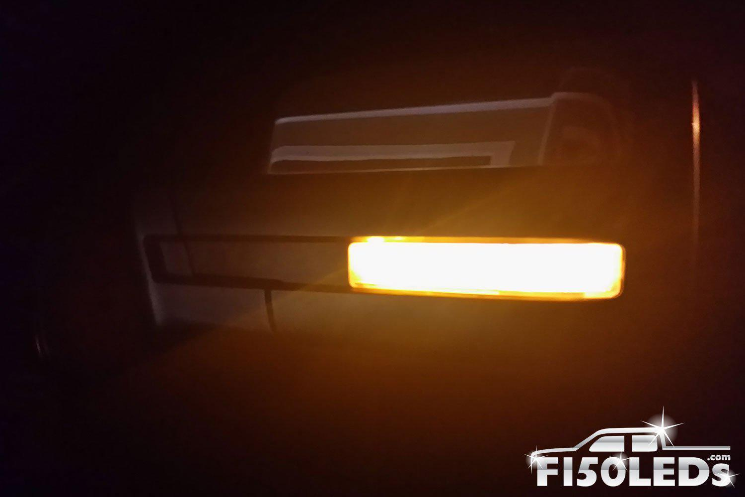 2010-14 F150 RAPTOR LED Mirror Running Light Kit-2010-14 F150 RAPTOR LEDS-F150LEDs.com