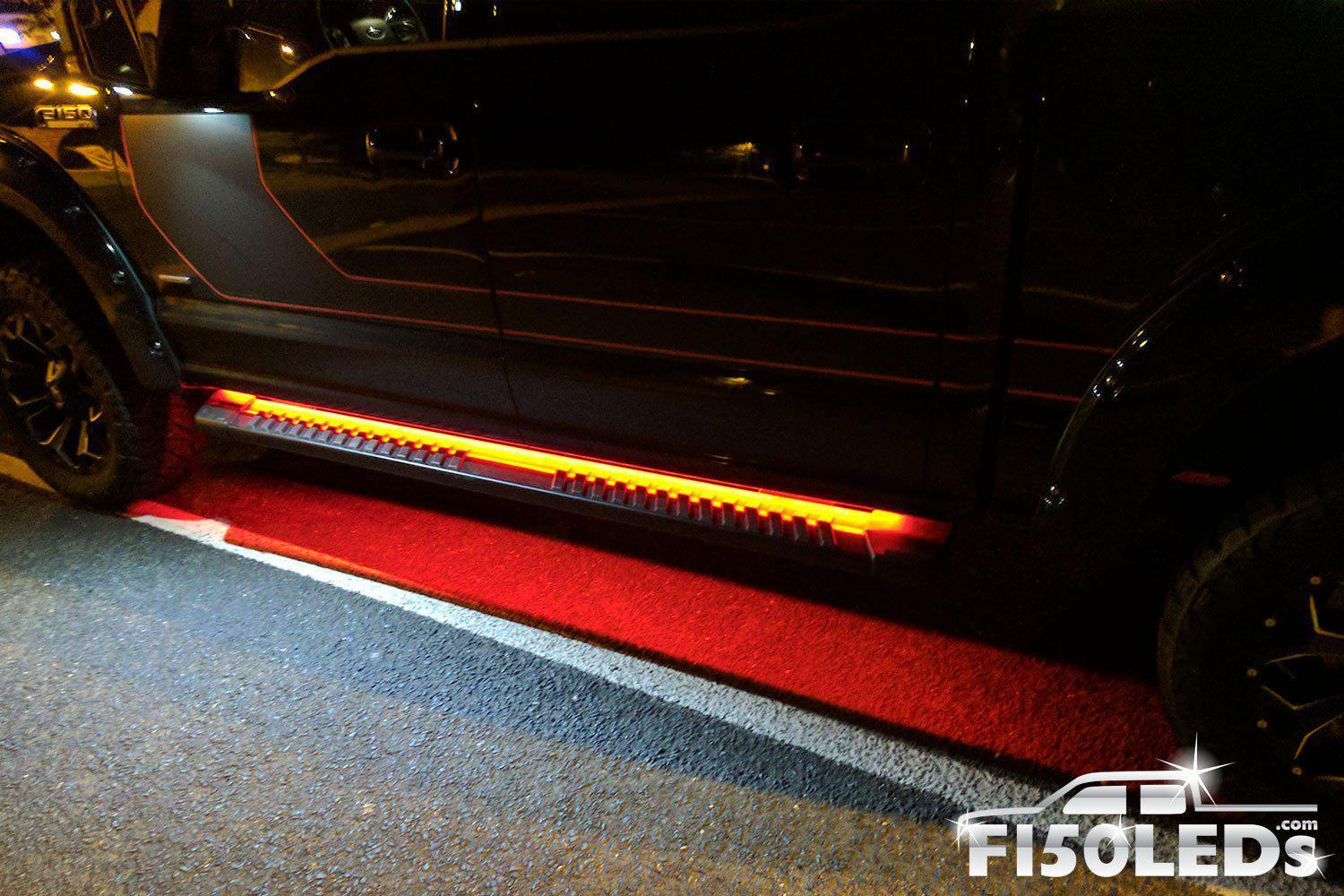 2010-14 F150 RAPTOR LED Running Board/ Area Premium Lights-2010-14 F150 RAPTOR LEDS-F150LEDs.com