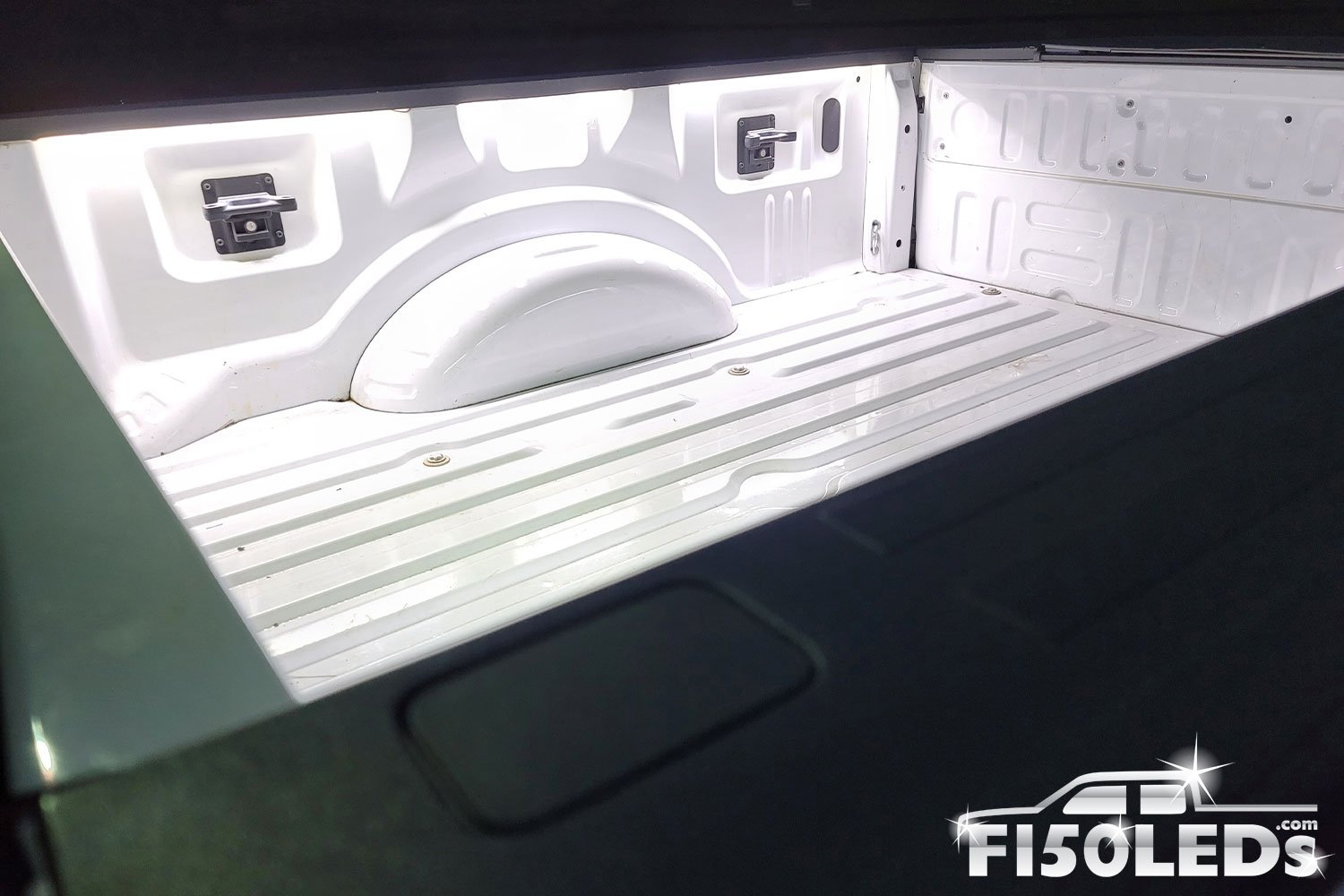 2017 - 2021 F250 Super Duty Integrated Bed Cargo area premium LED lights-F150LEDs.com