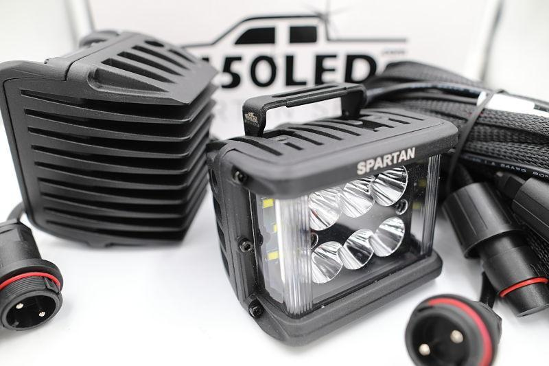 2017 - 2020 F250 Super Duty Spartan Series CREE LED Reverse Bar Kit (pair)-2017 - 2020 F250 Super Duty-F150LEDs.com