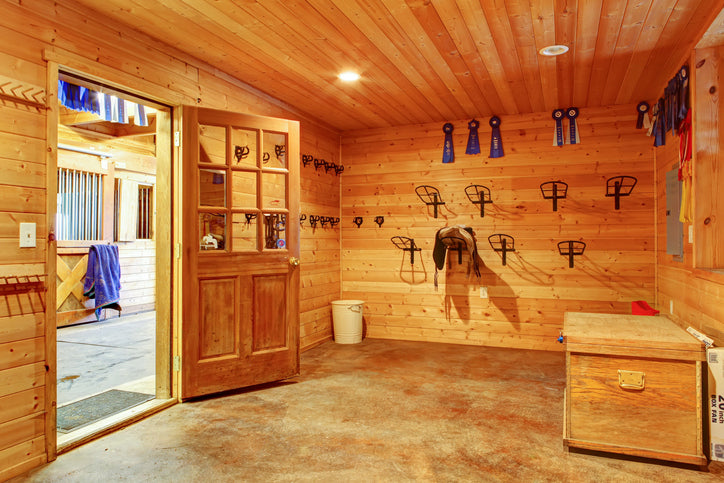 Keeping Your Tack Room Organized