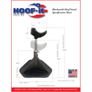 Hoof Stand HOOF-it® Blacksmith Model