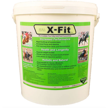 X-FIT™ Important Pre-digested free fatty acids for your horse