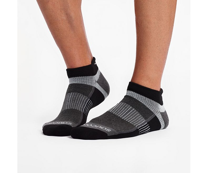Saucony Inferno No Show Tab 3-Pack Socks