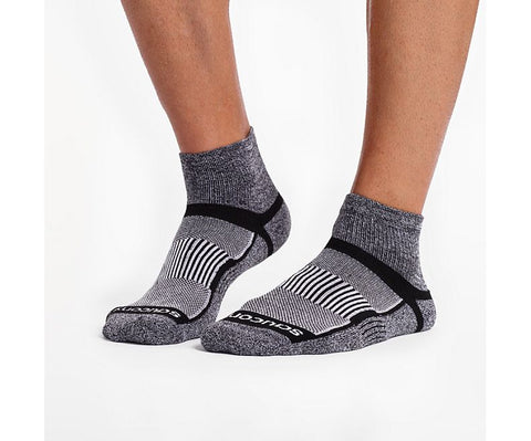 Saucony INFERNO QUARTER 3-Pack Socks