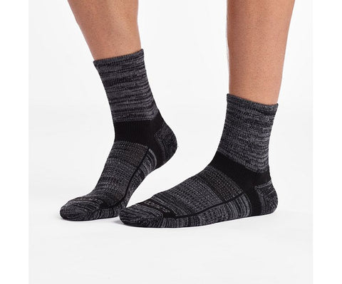 Saucony Inferno Merino Wool Blend Quarter 3-Pack Sock