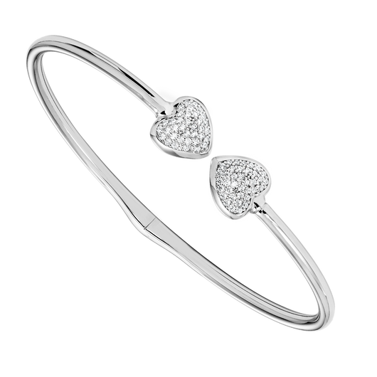 Sterling Silver Bangle - Style #FB1154