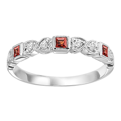 Mixable Ring - Ruby