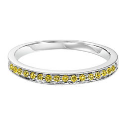 Treated Yellow Diamonds Mixable Ring