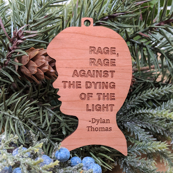 Dylan Thomas Ornament