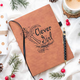 Clever Girl - Vegan Leather Journal, Large