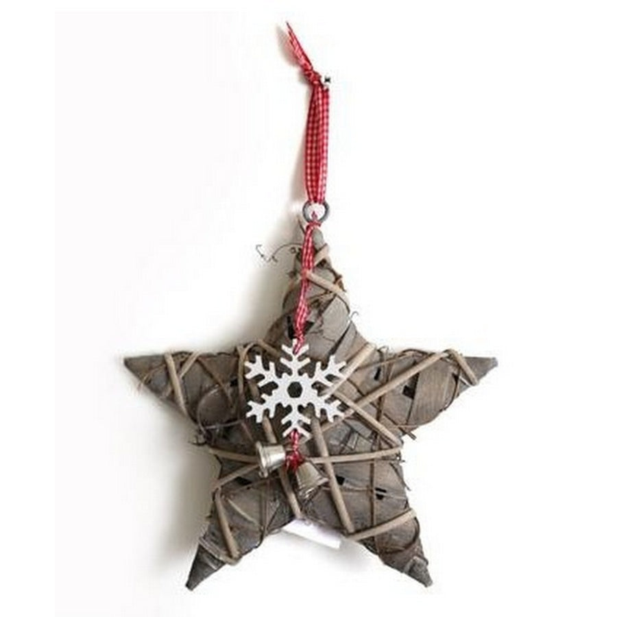 Willow star decoration
