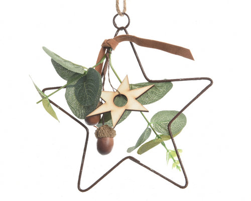 Iron Star Hanging Decoration