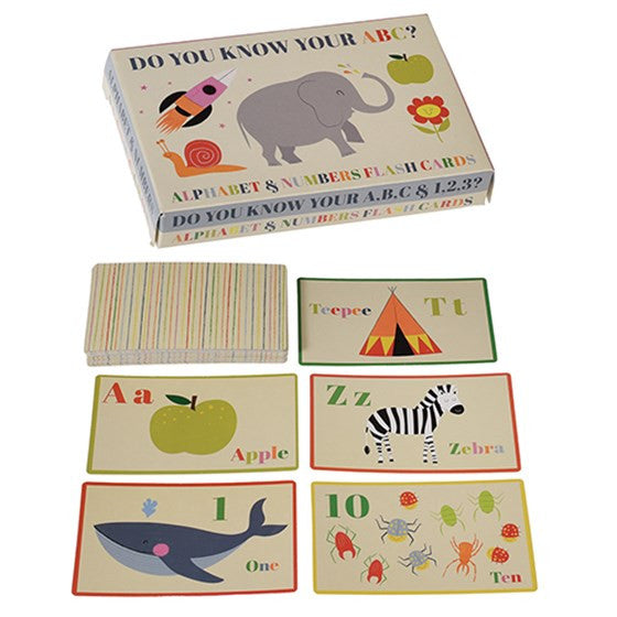 Fun and colourful Alphabet flash cards