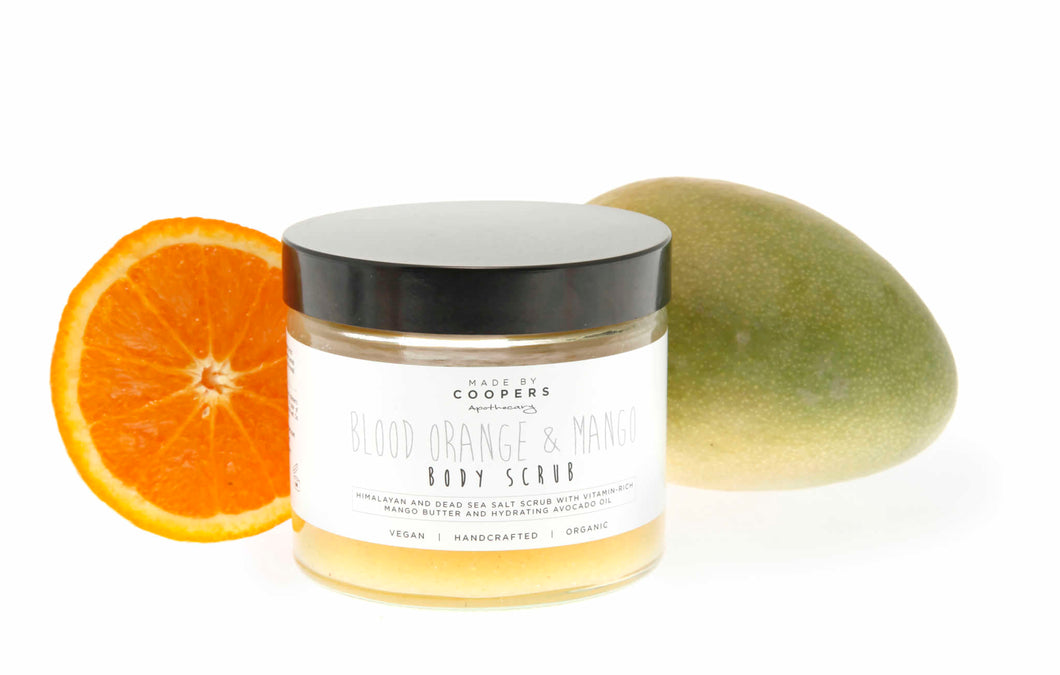 Blood Orange & Mango Body Scrub