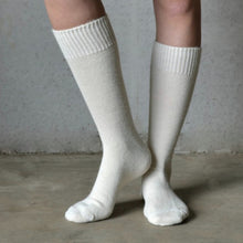 Tom Lane Cream Alpaca Socks