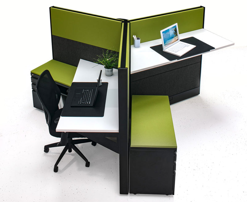 3 Pack Workstation Cubicles - Online Office Furniture