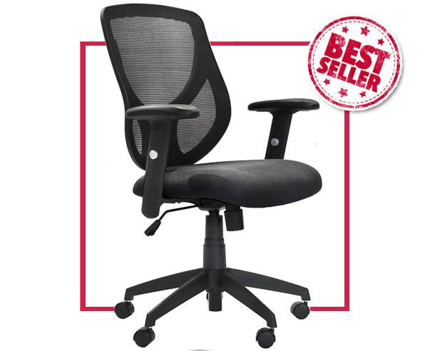 Mesh Back Task Chair - Multiple Colors - Online Office Furniture