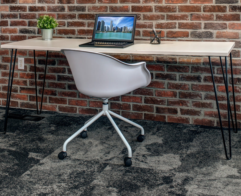 Stylish Hairpin Desk - Online Office Furniture
