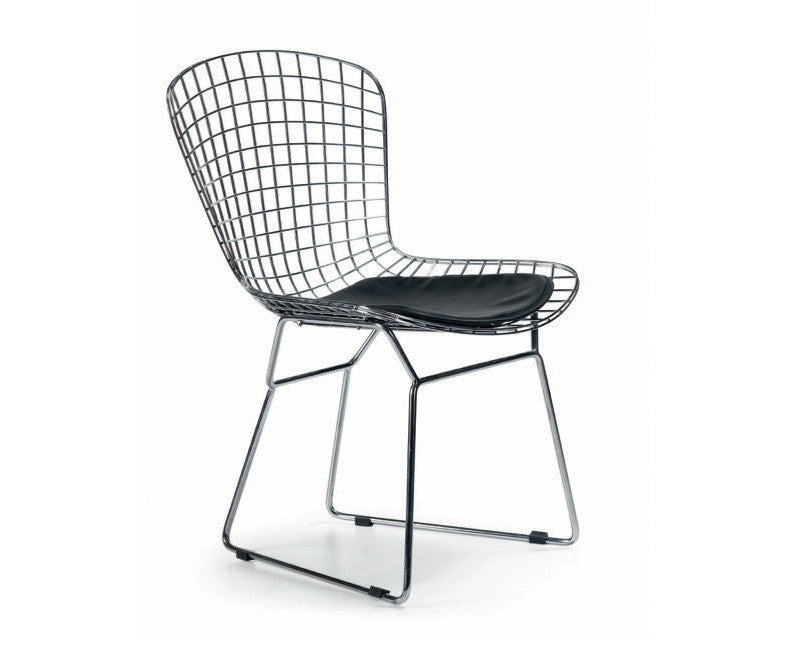 Cafe Chrome Chair Set - Set of 2 - Online Office Furniture