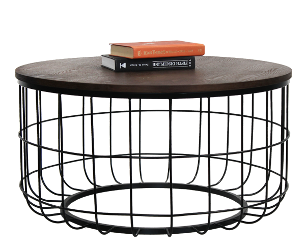 Industrial Wire Coffee Table - Online Office Furniture