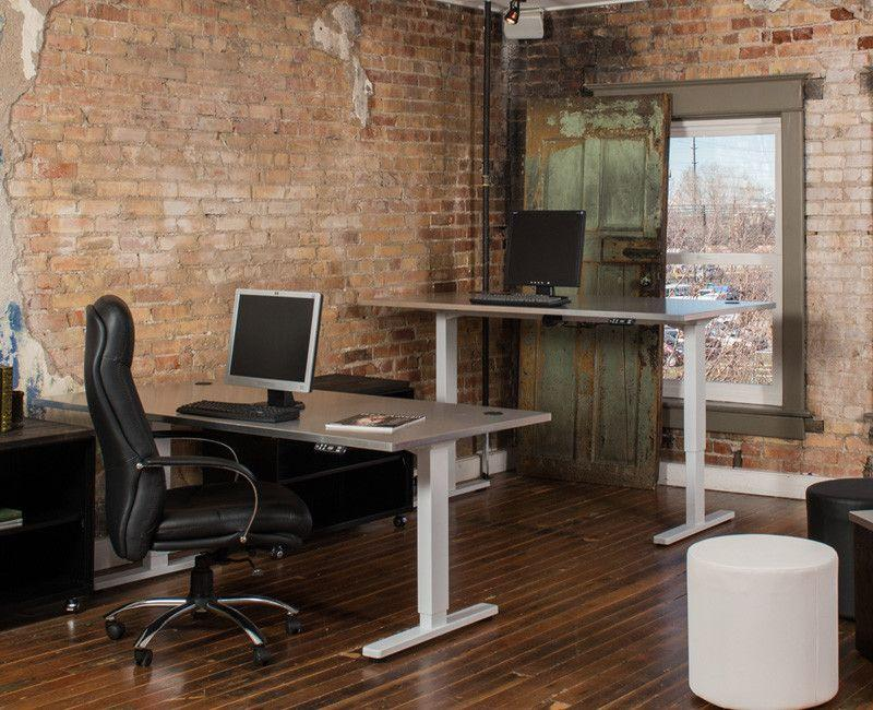Sit/Stand Adjustable Desk - Online Office Furniture
