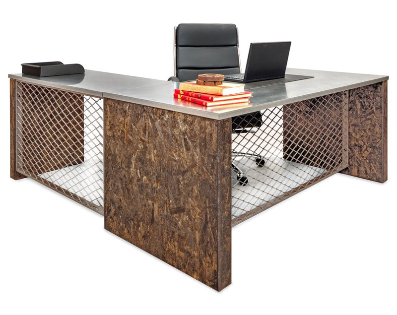 Urban Junior L-Shape Industrial Desk - Online Office Furniture
