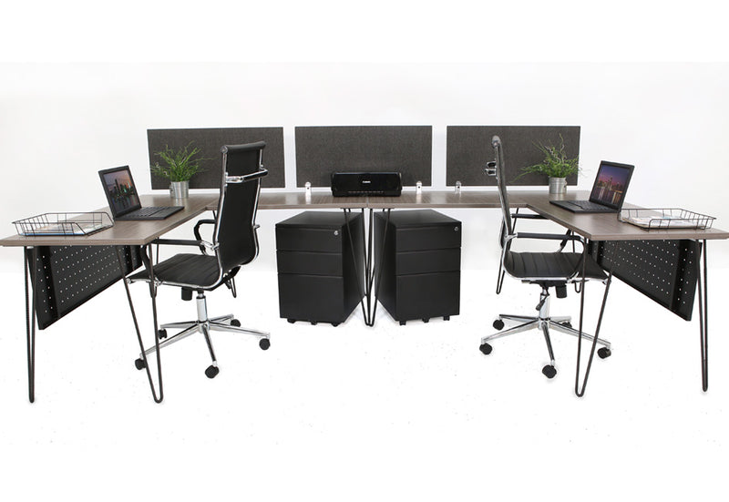 Modline Double Workstation - Online Office Furniture