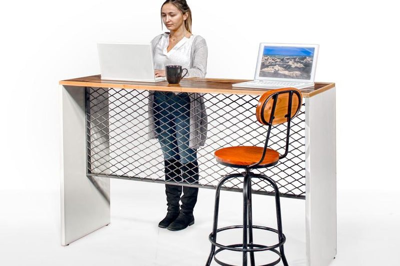 Counter Height Sit or Stand Desk - Online Office Furniture