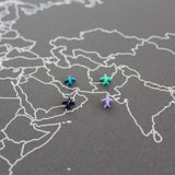 Airplane Map Pins / Plane Map Tacks