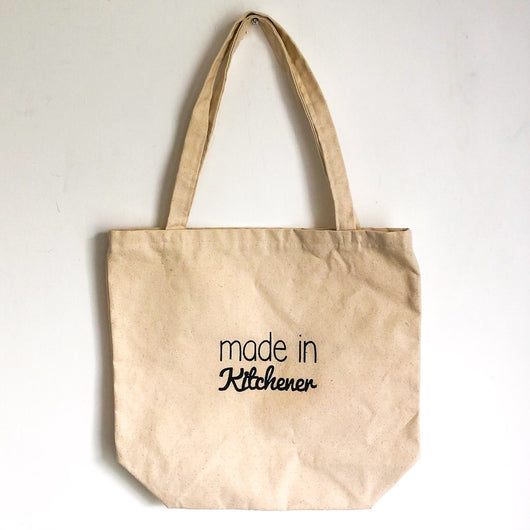 Made in Kitchener Tote Bags