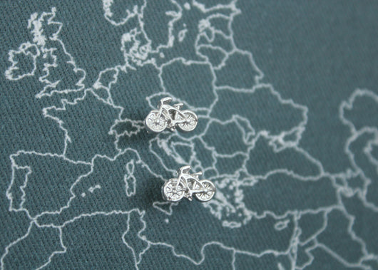 Bicycle Map Pins