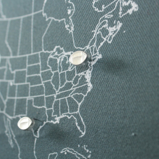 'Laces Out' Football Map Pins