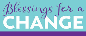 Blessings for a Change Inspirational Stickers