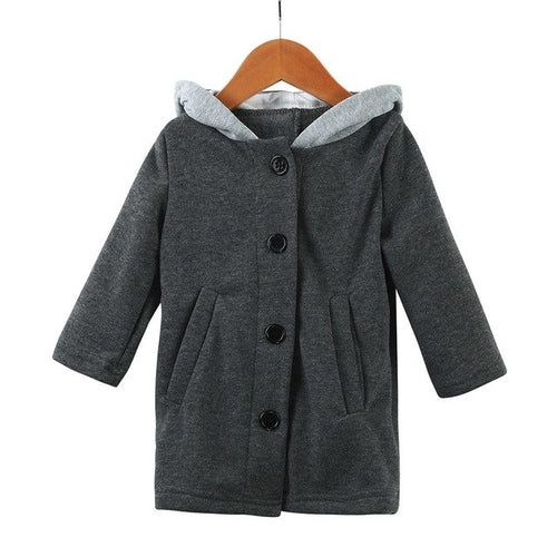 Cute Baby/Toddler Autumn Winter Hooded Coat