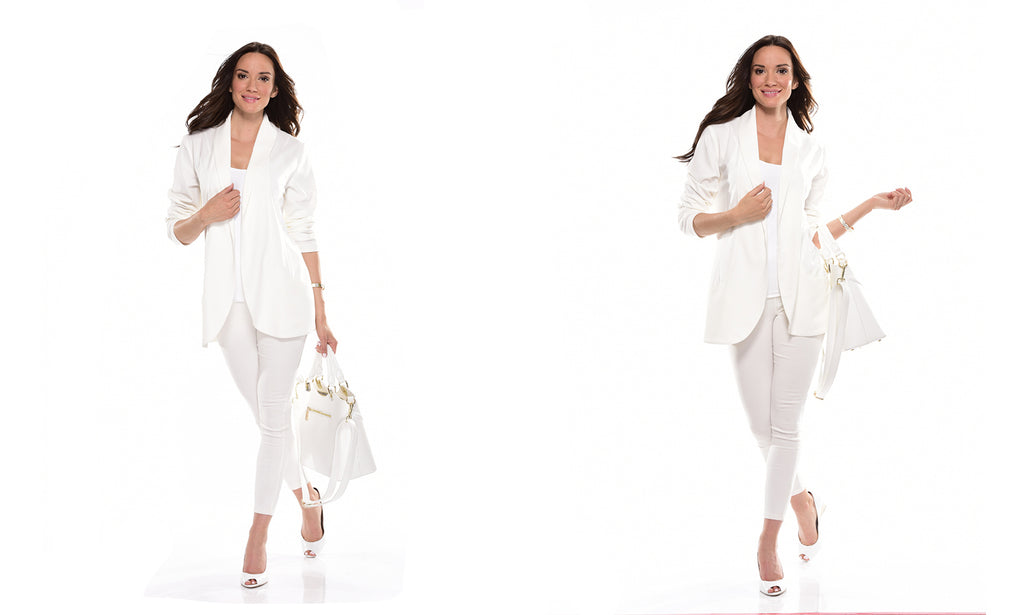 White Blazer 50% OFF